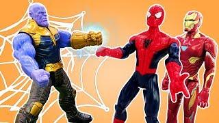 Человек Паук и супергерои – Мстители против Таноса!