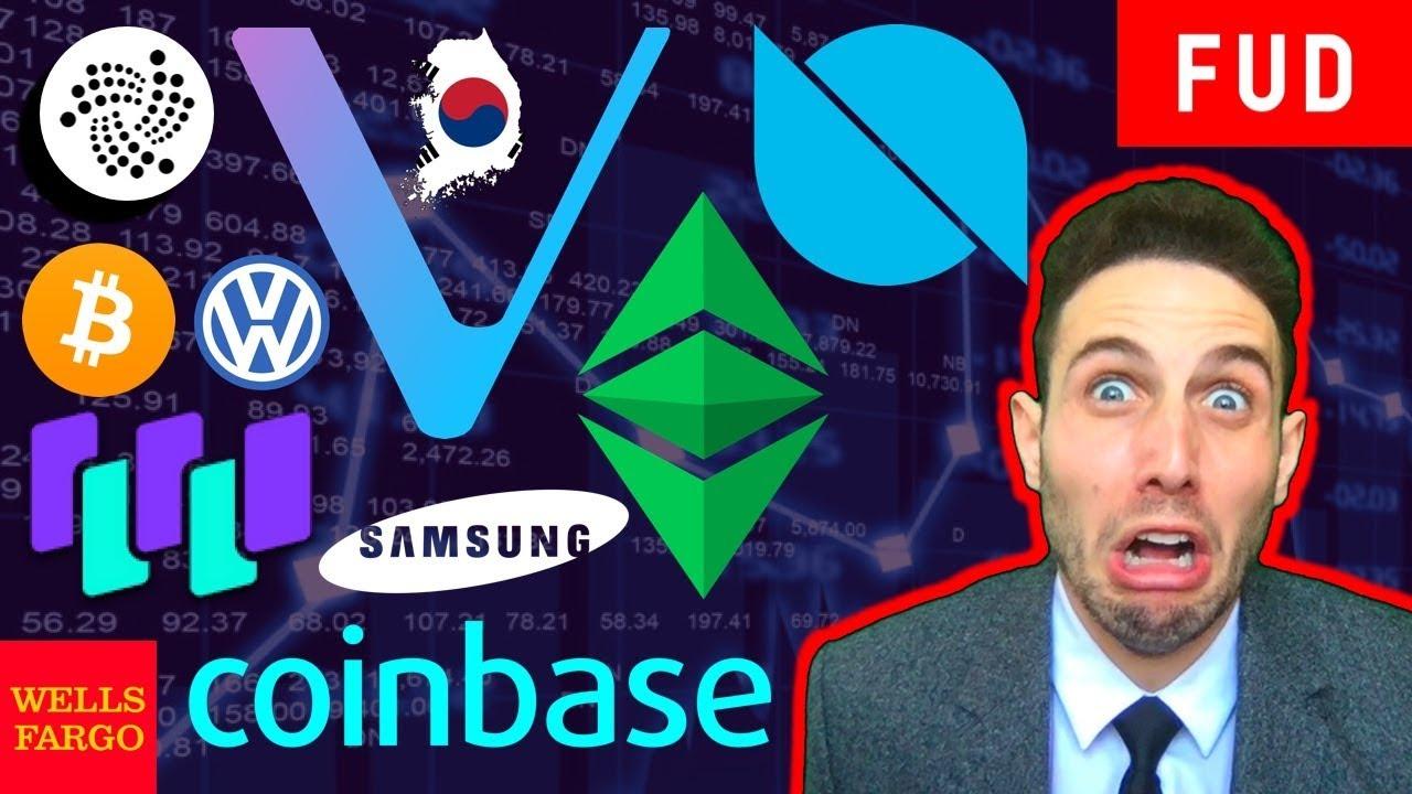 Coinbase adds Ethereum Classic? Ontology Vechain Waltonchain IOTA LOOM Bitcoin & Crypto News