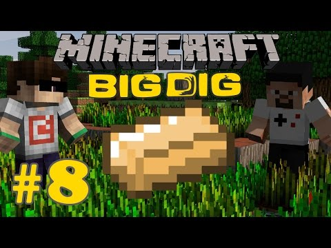 Minecraft: Big Dig #8 - FİLTRELEME SİSTEMİ!