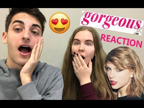 TAYLOR SWIFT - GORGEOUS REACTION