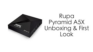 This TV Box is Awesome! - Rupa Pyramid A5X