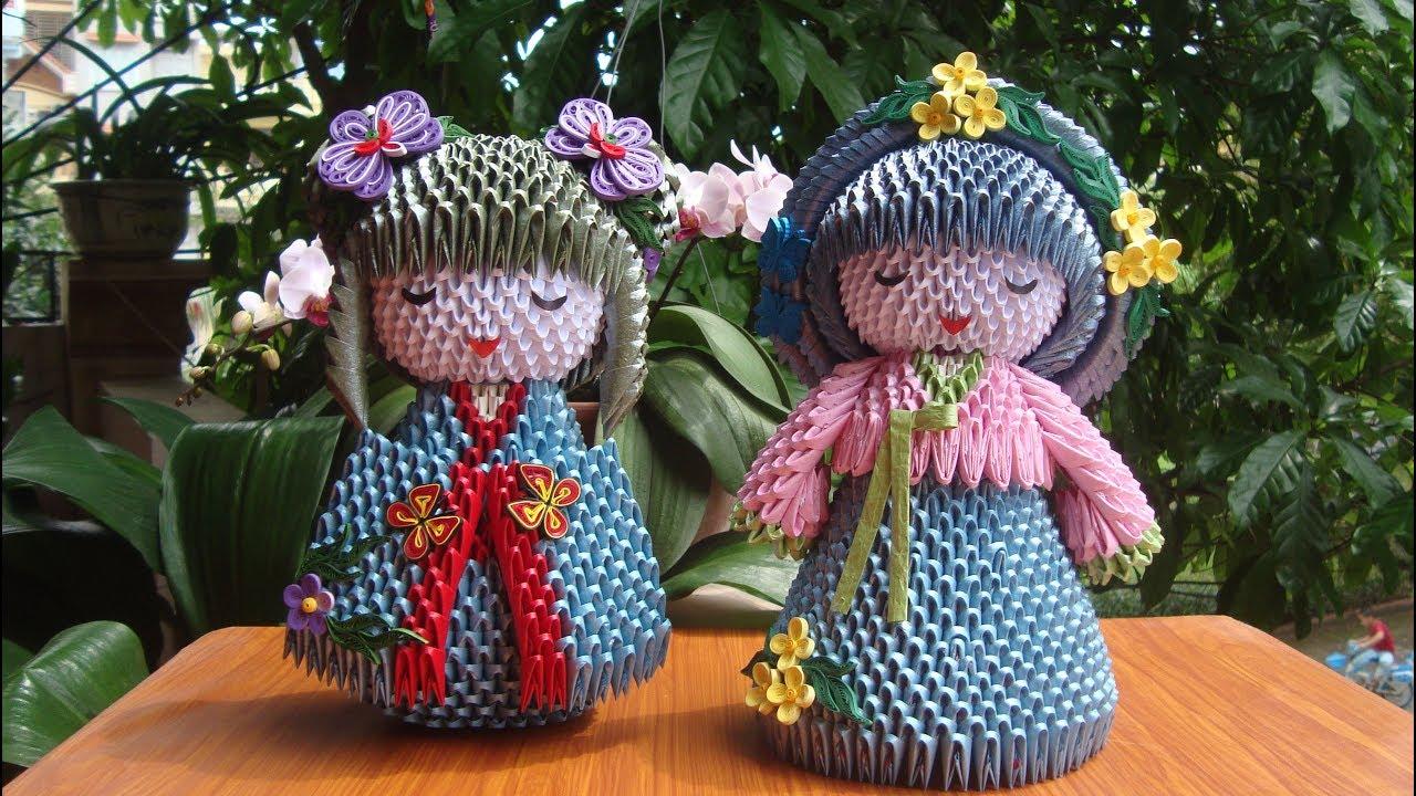 Product Preview || Korean Hanbok Doll Hana, Amigurumi & Crochet Doll  Pattern - YouTube | 720x1280