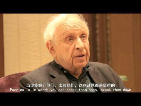 brief interview on Roy J Glauber