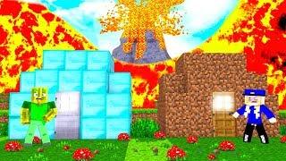 NOOB vs. PRO BASE gegen VULKAN?! - Minecraft VULKAN