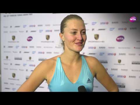 My Performance | Mladenovic defeats Sharapova | 2017 Porsche Tennis Grand Prix Semifinals WTA