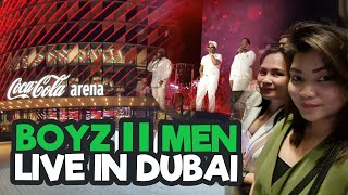 BoyzIIMen Live In Dubai FULL HD #LiveInConcert at (Coca Cola Arena Dubai)