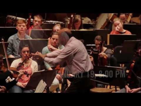 Oberlin Orchestra | Mozart Piano Concerto in C Major, K. 467 | Rehearsal