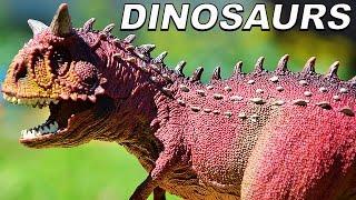 ДИНОЗАВРЫ. Битва Древнего Динозавра и Спинозавра. Мультик про Динозавров новые серии. Игрушки ТВ