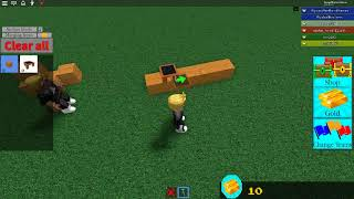 roblox Build A Boat For Treasure Noob first time trying