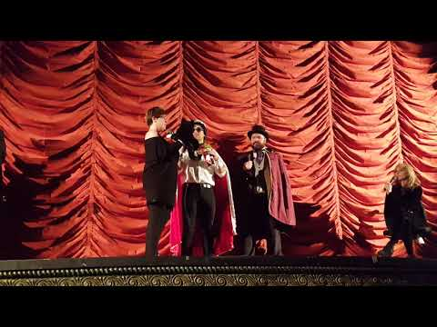 Gates McFadden with Improvised Star Trek cast at Juggernaut Film Festival 622018
