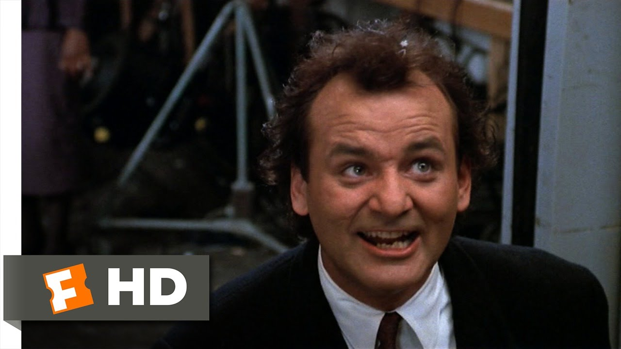 Scrooged (9/10) Movie CLIP - Death in an Elevator (1988) HD - YouTube
