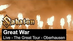 SABATON - Great War (Live - The Great Tour - Oberhausen)