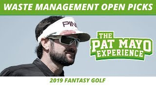 Fantasy Golf Picks - 2019 Waste Management Open Picks, Preview, One and Done