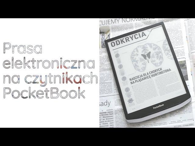 Trwała, mobilna i eko- czyli prasa elektroniczna na czytnikach PocketBook!