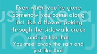 Uncle Kracker - You make me Smile Lyrics