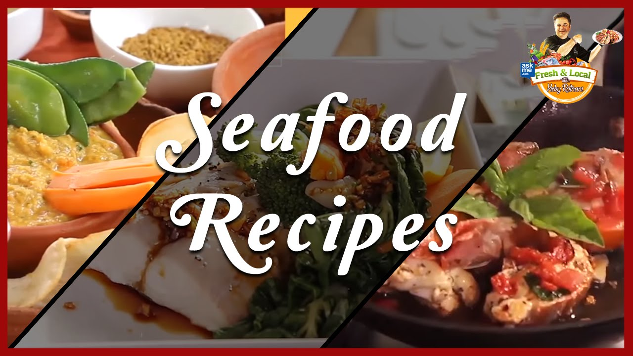 Sea food recipes seafood cooking videos chef vicky ratnani sea food recipes seafood cooking videos chef vicky ratnani recipes youtube forumfinder Gallery