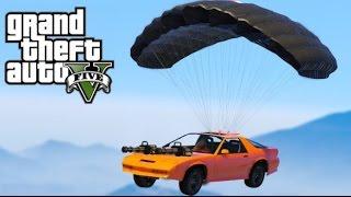 【GTA5】ワイルドスピードを超えろ!パラシュートでダイブ【ジャンプ】