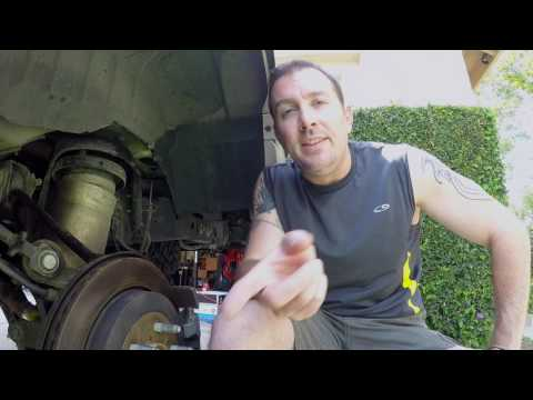 1LifeLive: 2007 Ford Expedition Rear Rancho Coilover Shock Strut Install