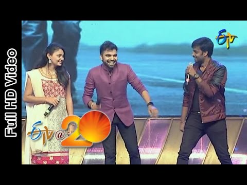 Hemachandra,Brinda Performance - Sari Gama Padha Nisa Song in Tenali ETV @ 20 Celebrations