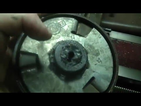 Fixing Centrifugal Clutches, using Harbor Freight 3 in 1 Multi Purpose  machine,