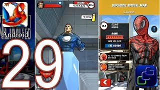 Spider-Man Unlimited Android Walkthrough - Part 29 - Hydro-Man vs Superior Spider-Man Great Run