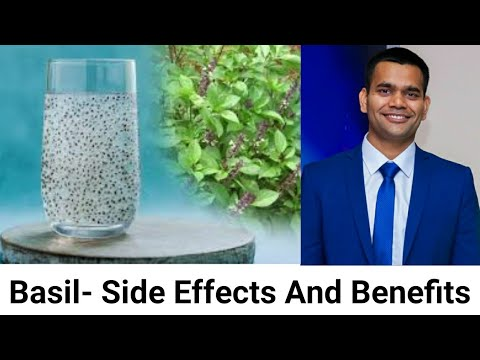 Basil Seeds Side Effects And 5 Surprising Benefits