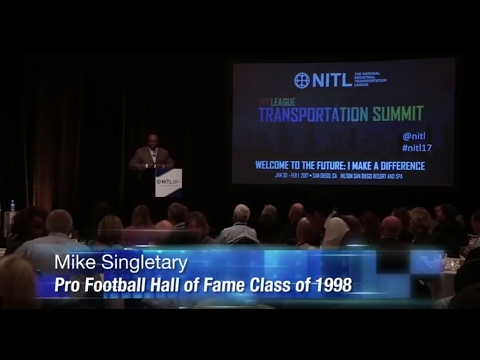 Mike Singletary Talks Leadership at the 2017 NITL Summit
