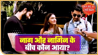 Zain Imam Meets Sharad Malhotra & Surbhi Chandna On The Sets Of Naagin 5 | Saas Bahu Aur Saazish