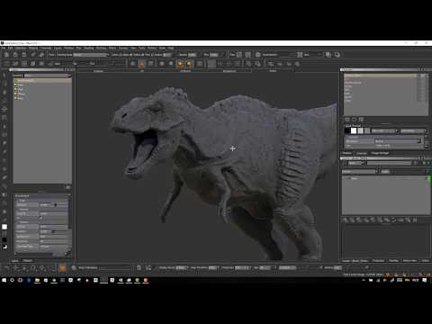 Release the beast - Texturing in Mari