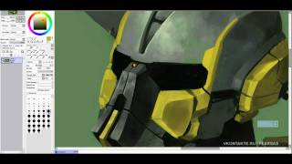 Cyrax MK3 by fear-sAs (STEP A - 1 hour)