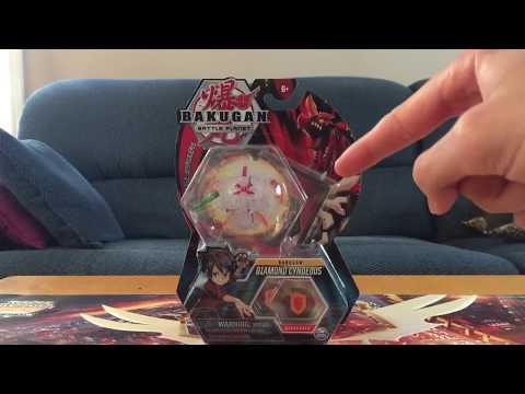 Bakugan Battle Planet: Diamond Cyndeous Wave 4 Unboxing!