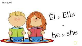 Spanish Pronoun Song (tune of Do Re Me)