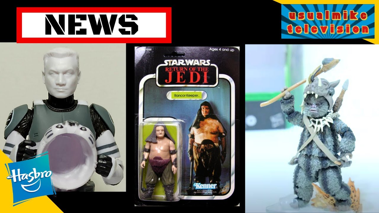 STAR WARS ACTION FIGURE NEWS THE VINTAGE COLLECTION AND BLACK SERIES RUMOURS HELMETS FACES UNBOXING