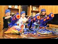 Nerf War:  Reaper Returns With The Oracle!  Omega Sends Triple Titans