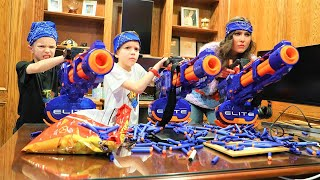Nerf War : Reaper Returns With The Oracle!  Omega Sends Triple Titans