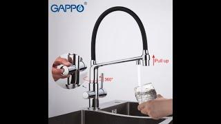 Обзор смесителя Gappo G4398-7