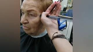 Короткая стрижка на тонкие волосы
