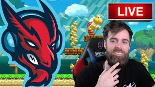super Mario Maker Live Stream (Calithon Prep)