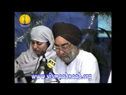 AGSS 2001 - Raag Prabhati : Principal Shamsher Singh Ji Kreer