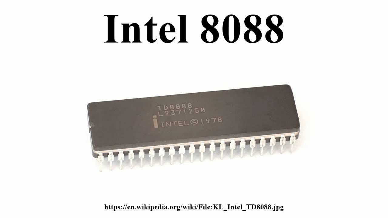 Intel 8088 - YouTube