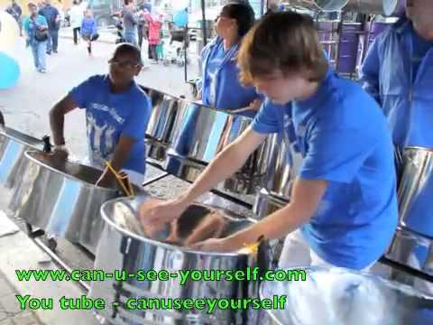 Notting Hill Carnival 2014 (Panorama) Croydon Steel Orchestra - Calypso (Trinidad & Tobago Music)