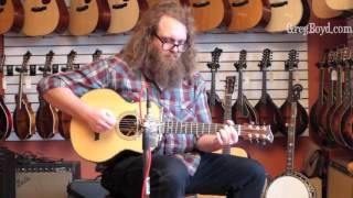 Shanti Parlor Guitar played by Matt Rieger