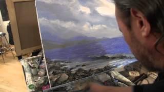 Художник Игорь Сахаров, как научиться рисовать морской пейзаж, уроки рисования