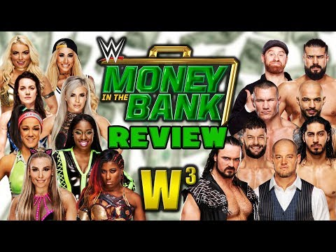 WWE Money In The Bank 2019 Review   Wrestling With Wregret