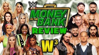 WWE Money In The Bank 2019 Review | Wrestling With Wregret
