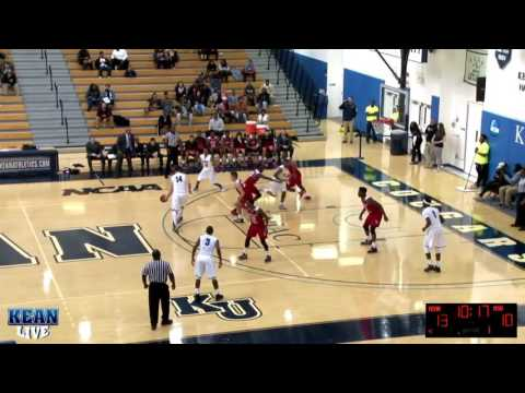 Men's Basketball Highlights vs. Montclair State