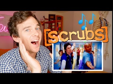 SCRUBS 'My Musical' real DOCTOR reaction | Medical drama review