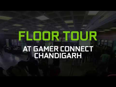 #GAMERCONNECT #CHANDIGARH - Floor Tour