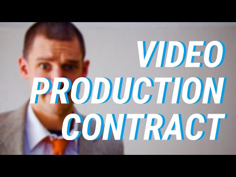 What you need in your video production contracts!