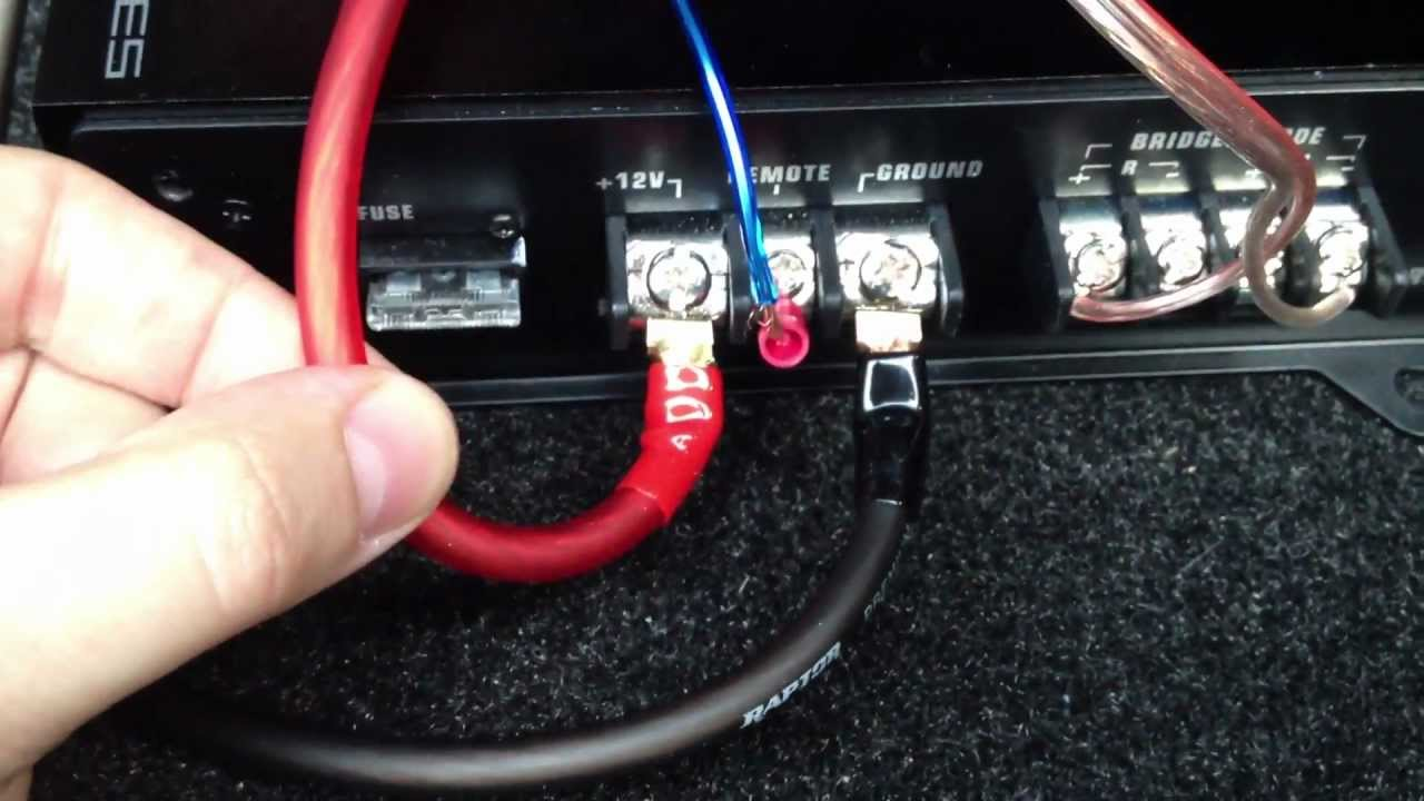Corvette Bose Amplifier Wiring Harness How To Install Subwoofer And Amp In Any Lexus Car Audio